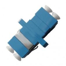 LC Duplex Plastic Fiber Optic Adapter