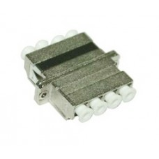 LC Quad Metal Fiber Optic Adapter