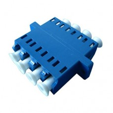 LC Quad Plastic Fiber Optic Adapter