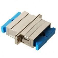 SC Duplex Metal Fiber Optic Adapter