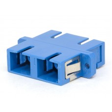 SC Duplex Plastic Fiber Optic Adapter
