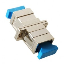 SC Simplex Metal Fiber Optic Adapter