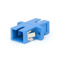 SC Simplex Plastic Fiber Optic Adapter