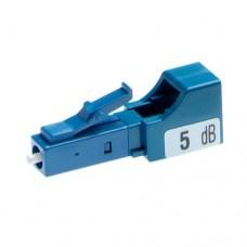 LC Fiber Optic Attenuator, Fixed Value, Male to Female Plug-in Type