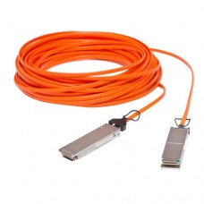50M 40GbE QSFP+ QDR Active Optical Cable / AOC Cable