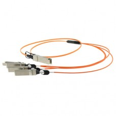 100M QSFP+ to 4 SFP+ Breakout Active Optical Cable / AOC Cable