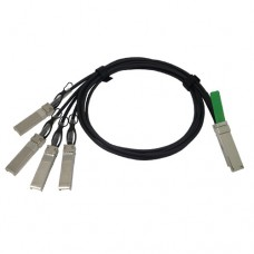 0.5M QSFP+ to 4 SFP+ Copper Breakout Cable, AWG30, Passive