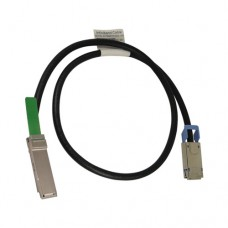 1M QSFP+ to CX4 DDR Cable, AWG30, Passive