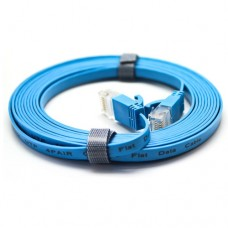 Cat5E Flat Patch Cable with Molded Boot