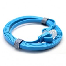 Cat6 Flat Patch Cable with Molded Boot