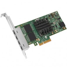 Intel I350 Chipset PCI-Express x4 Quad-Port RJ45 Copper Gigabit Ethernet Server Adapter