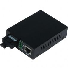 10/100M Dual Fiber 1-port SC/ST/FC & 1-port RJ45 Fast Ethernet Fiber Media Converter