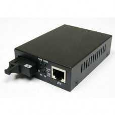A Pair of 1000M Single Fiber 1-port SC/ST/FC & 1-port RJ45 Gigabit Ethernet BIDI WDM Fiber Media Converter
