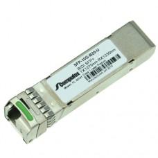 SFP+, 10Gbps, BiDi, 10GBase-BX, SMF, Tx1270/Rx1330nm, 20KM