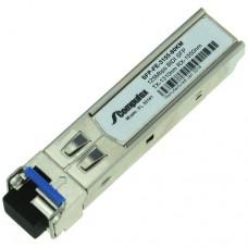 SFP BIDI, 125Mbps, TX-1310nm, RX-1550nm, SMF, 80KM
