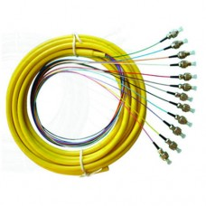 OM3 50/125 Multimode 12-Fiber Distribution Fiber Optic Pigtail