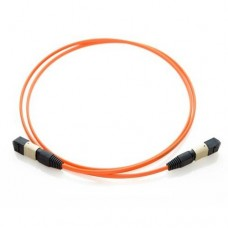 24 Fiber MTP / MPO OM1 62.5/125 Multimode Fiber Optic Patch Cable