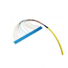 OM3 50/125 Multimode 24-Fiber Distribution Fiber Optic Pigtail