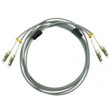 Armored Duplex OM2 50/125 Multimode Fiber Optic Patch Cable