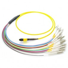 12 Fiber MTP / MPO OS1 9/125 Singlemode Fiber Optic Patch Cable