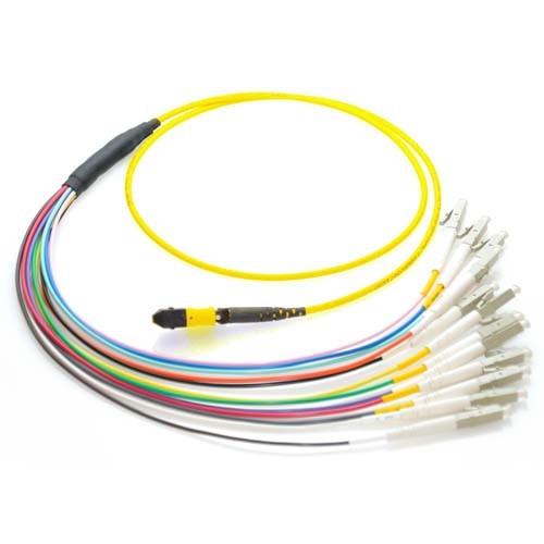 12 Fiber MTP MPO OS1 9 125 Singlemode Optic Patch Cable